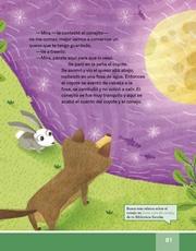 Libro Español libro de lectura tercero grado Página 81