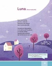 Libro Español libro de lectura tercero grado Página 83