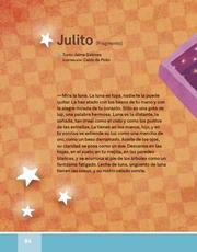 Libro Español libro de lectura tercero grado Página 84