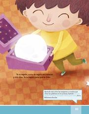 Libro Español libro de lectura tercero grado Página 85