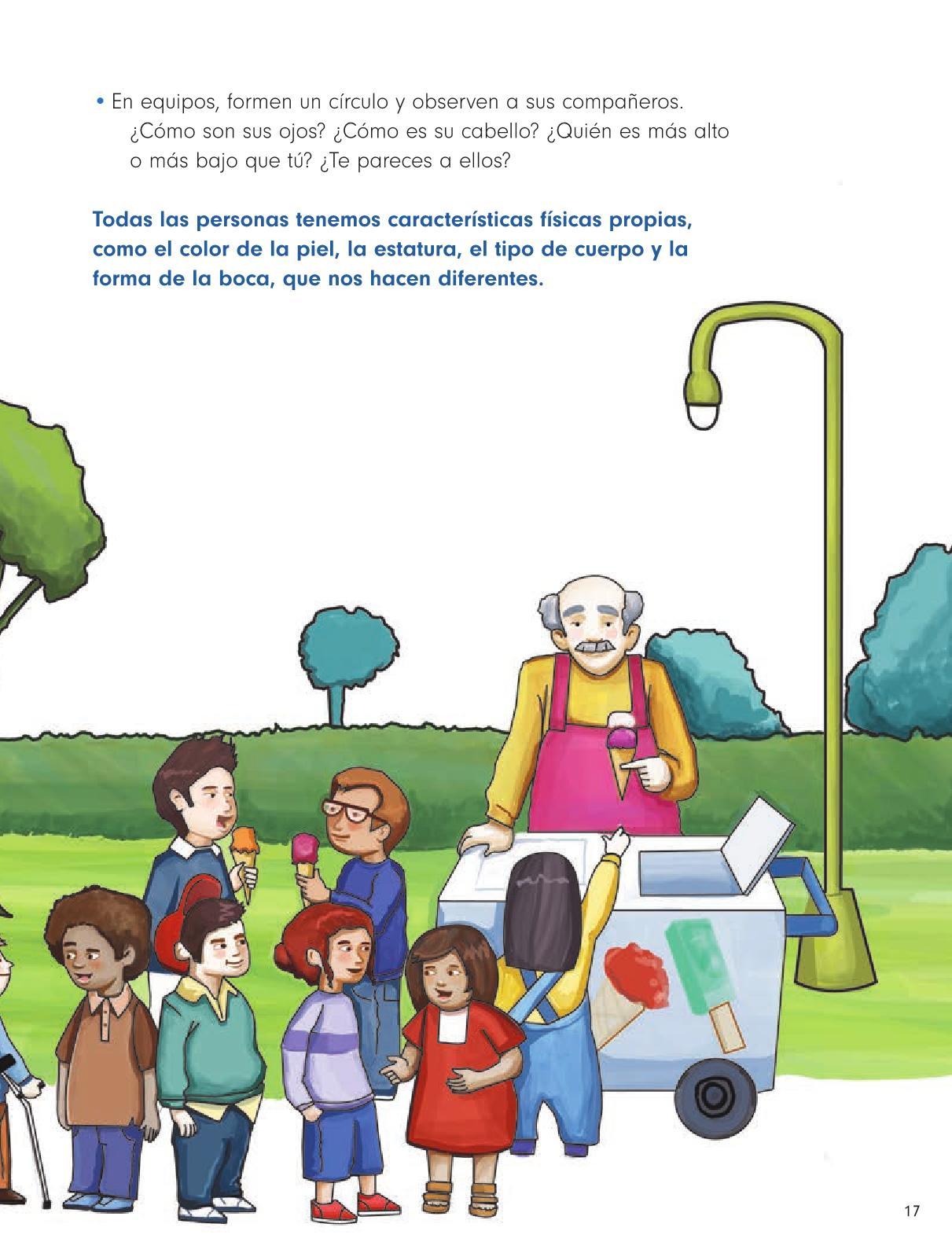 Formación Cívica y Ética Primer grado página 17